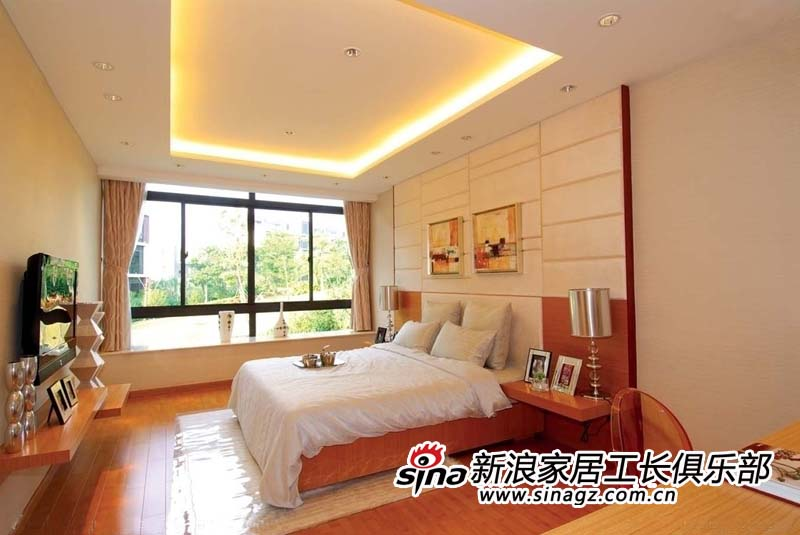 卧室之风水说-北京装修-北京搜房网装修吊顶用扣条图片