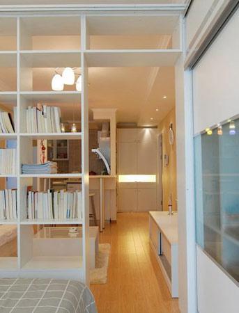 厅卧空间一体化 30平小户型厉害设计_资讯-新浪装修抢