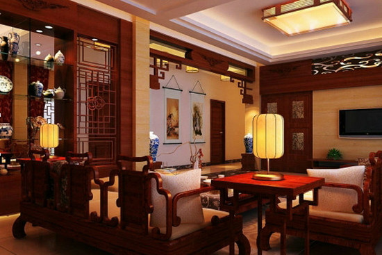 古色古香添韵味 8款中式客厅设计图片