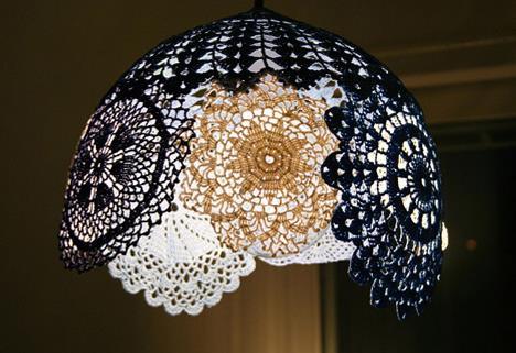 diy漂亮的镂空吊灯灯罩