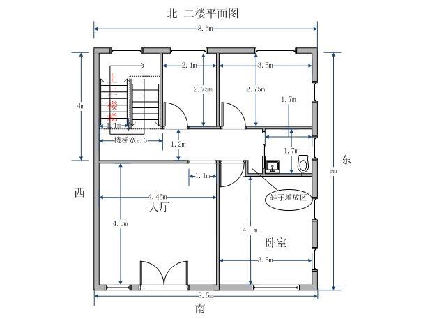 一,根据设计师画出的房屋设计图来确定所用材料图片