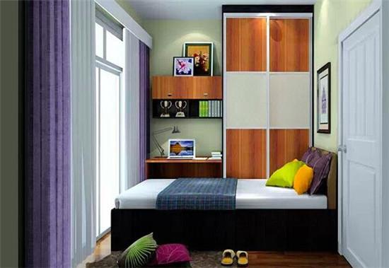 10平米小卧室设计要点是什么 看小卧室如何变身    现在由于装修技术