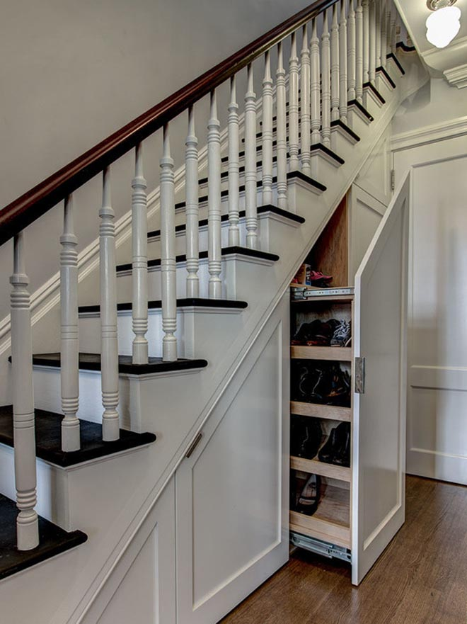 楼梯角落巧装修,精彩设计推荐