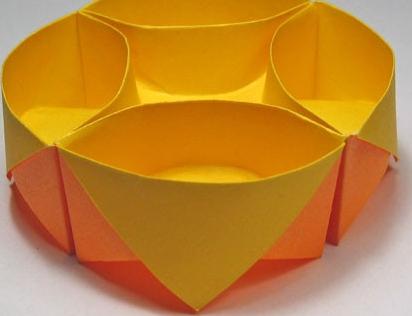 纸盒子的折法简单介绍