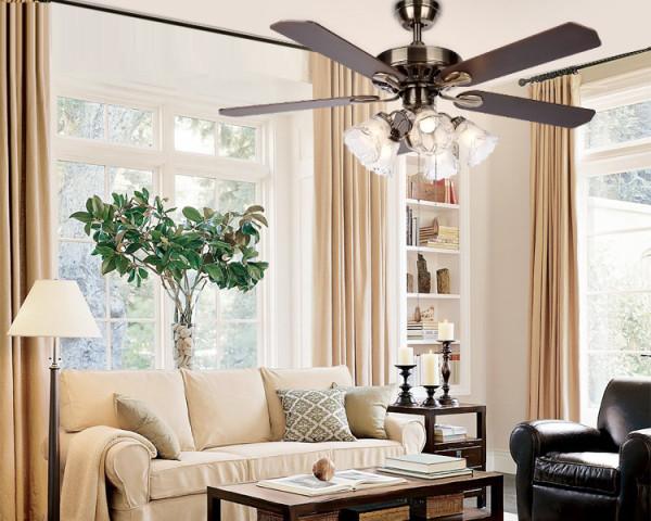 客厅厨房卧室清新田园碎花森系灯具欧式北欧装修效果图片 装修美图