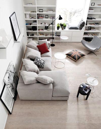 客厅北欧宜家小资简约舒适装修效果图片 装修美图 新浪装修家居网看