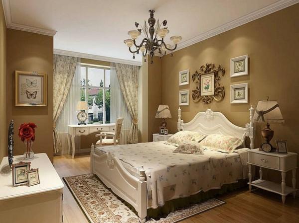 白富美小资80后气质美女卧室装修效果图片 装修美图 新浪