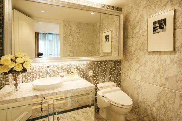 居白领旧房改造80后上林世家卫生间装修效果图片 装修美图 新浪装
