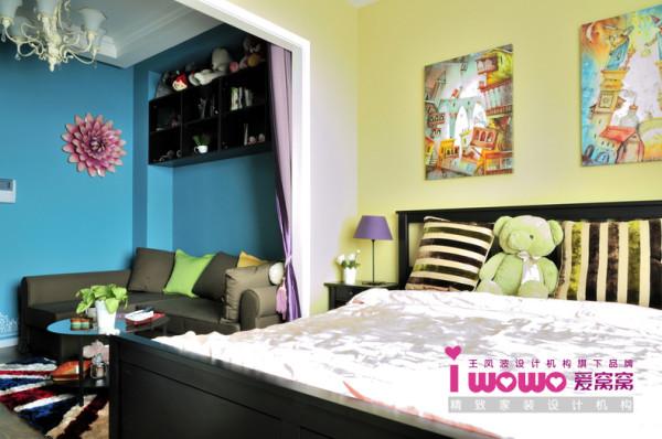 设计小户型设计英式风情英式风格卧室装修效果图片 装修美图 新浪装