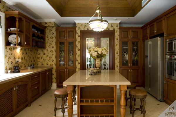 中式 别墅装修 精装设计 厨房图片来自尚层别墅装饰在远洋