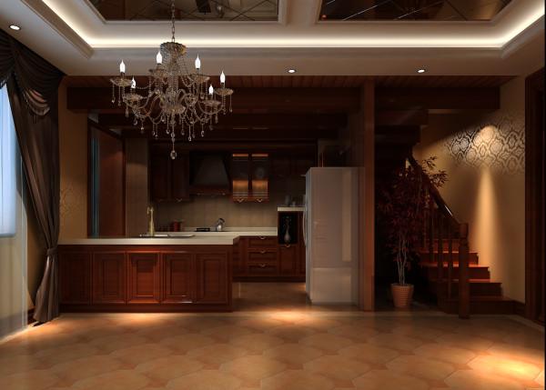 实创装饰 中式 别墅 客厅 卧室 玄关 厨房图片来自实创装