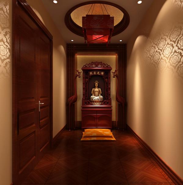 实创装饰中式别墅客厅卧室玄关其他装修效果图片 装修美图 新浪装修