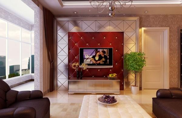 小户型 实创装饰 金领国际 现代风格 现代简约 客厅图片来