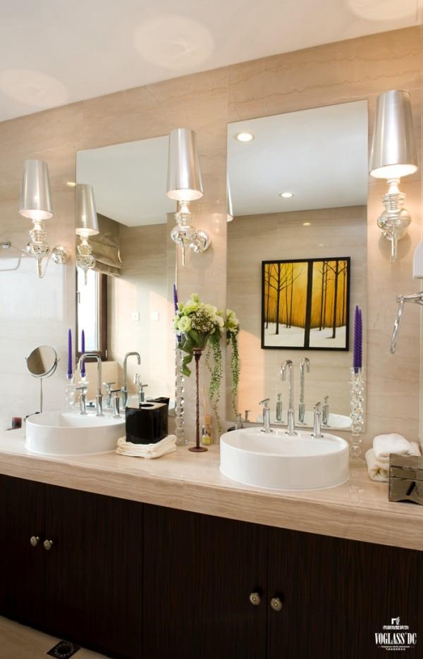 简约别墅装修尚层装饰卫生间装修效果图片 装修美图 新浪装修家居网