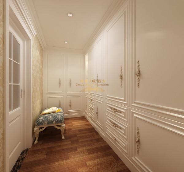 简约欧式复式装修效果图楼梯衣帽间装修效果图片 装修美图 新浪装修