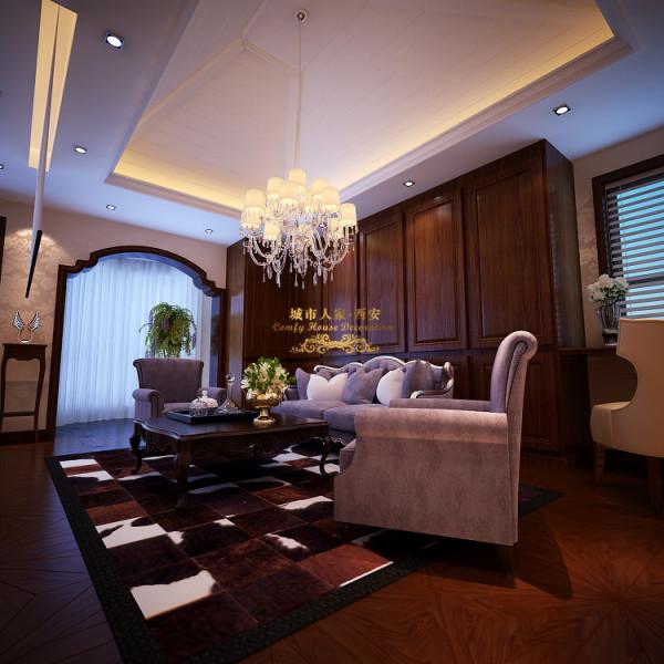 欧式复式萨拉曼卡楼梯设计高端装修客厅装修效果图片 装修美图 新浪