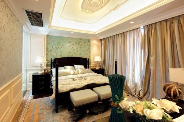 装修 奢华设计 温馨设计 欧式 卧室图片来自香港古兰装饰 成