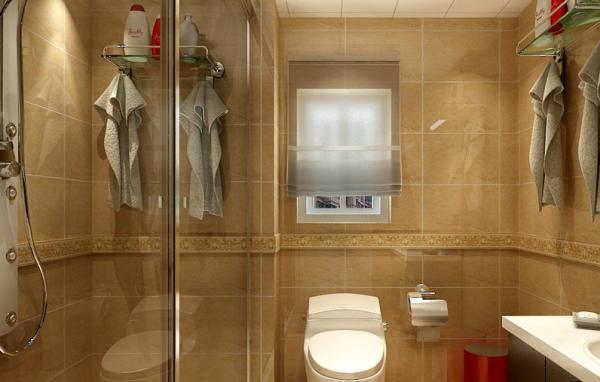 简约 二居 旧房改造 卫生间图片来自豆在86平米小户型简单装修的分享