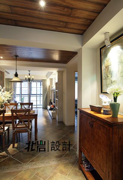 美式乡村阅城国际北岩设计餐厅装修效果图片 装修美图 新浪装修家居