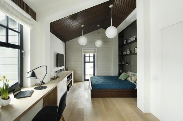 别墅 卧室 现代 三居 卧室图片来自合建装饰李鑫在三效合