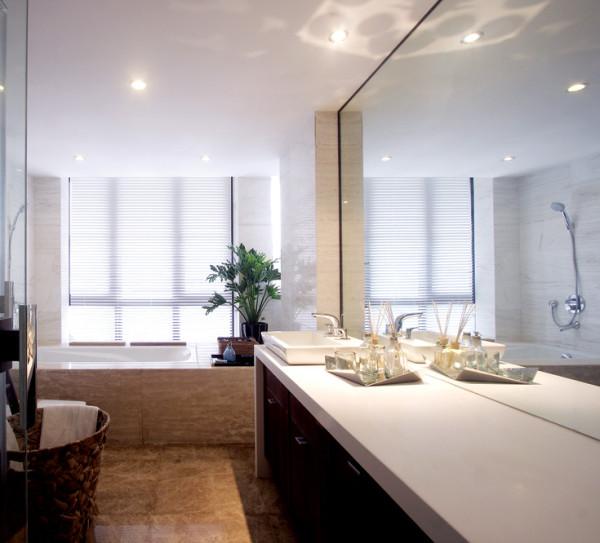 现代混搭中式现代风格装专修图片卫生间装修效果图片 装修
