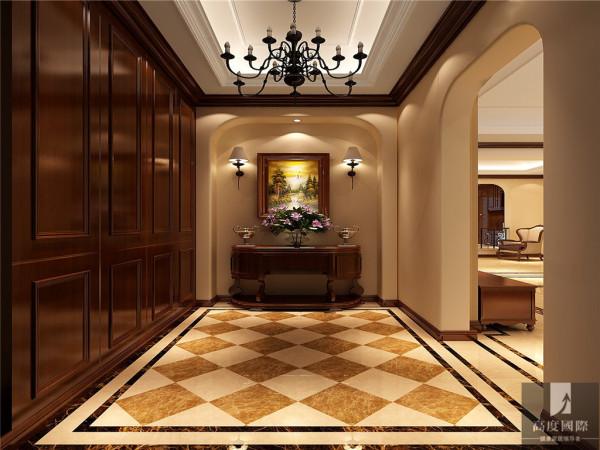 简约美式别墅白领80后小资公寓高富帅白富美玄关装修效果图片 装修
