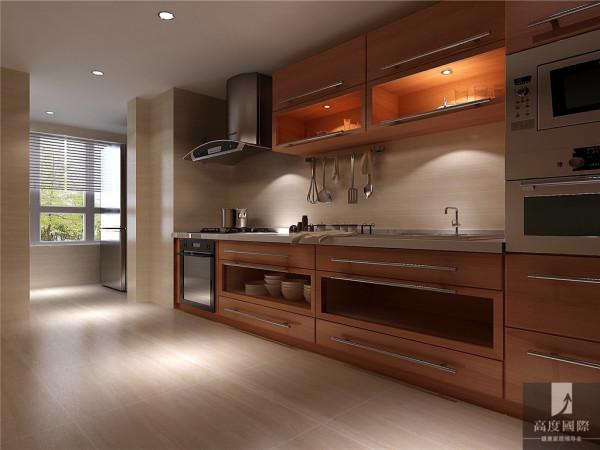 简约中式二居白领80后小资高富帅白富美高度厨房装修效果图片 装修