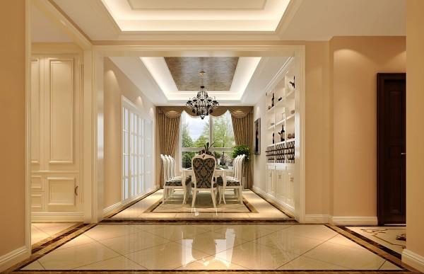 简欧K2百合湾三居高度国际装饰设计餐厅装修效果图片 装修美图 新浪