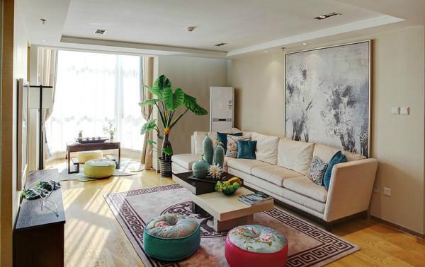 现代别墅装修尚层装饰客厅装修效果图片 装修美图 新浪装修家居网看