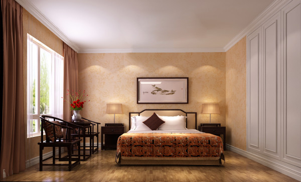 简约欧式卧室装修效果图片 装修美图 新浪装修家居网看图
