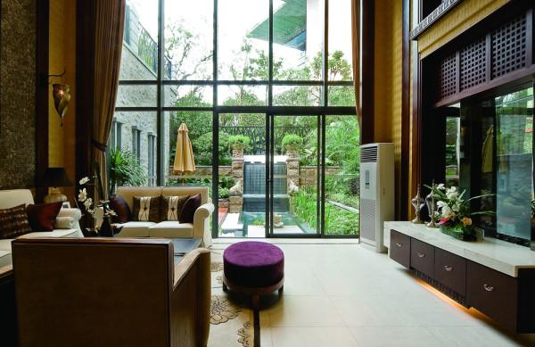 泰式别墅装修尚层装饰客厅装修效果图片 装修美图 新浪装修家居网看