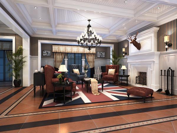 欧式 别墅 英伦风 低调奢华 客厅 客厅图片来自唯美装饰喻