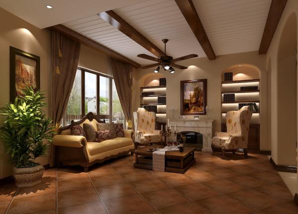 欧式简约别墅客厅装修效果图片 装修美图 新浪装修家居网