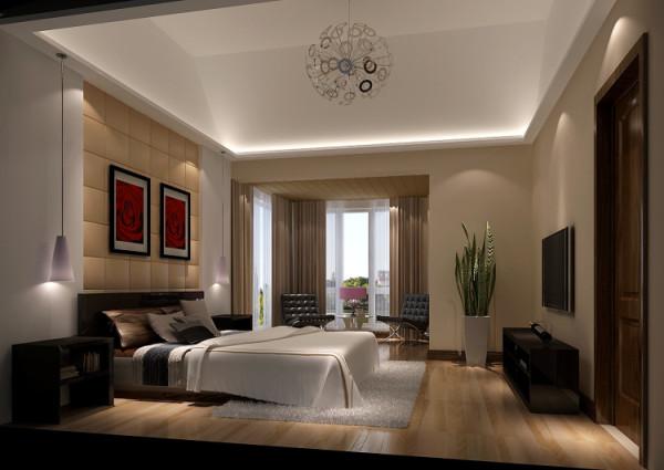 欧式简约别墅卧室装修效果图片 装修美图 新浪装修家居网