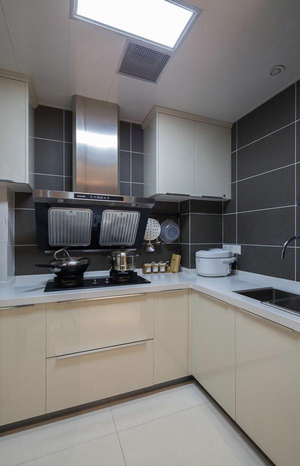 现代简约三居80后小资新房装修厨房装修效果图片 装修美图 新浪装修高清图片