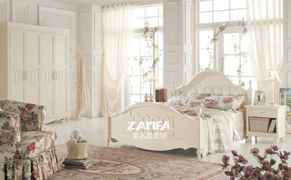 装修 奢华 卧室图片来自紫名居装饰在欧式 汇锦国际凌江的分