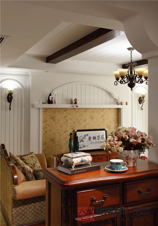 美式乡村三居客厅装修效果图片 装修美图 新浪装修家居网看图装修高清图片