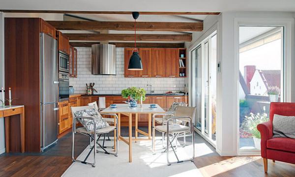 二居白领客厅餐厅阳台阳台装修效果图片 装修美图 新浪装