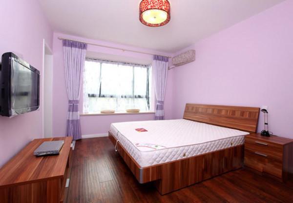 小户型设计婚房设计现代简约开放式厨房卧室装修效果图片