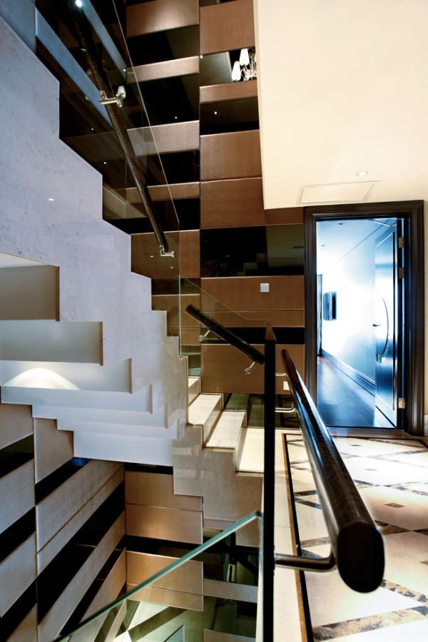 别墅装修楼梯装修效果图片 装修美图 新浪装修家居网看图装修