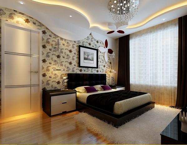 简约现代大户型别墅广州装修设计室内装修报价家居卧室装修效果图片