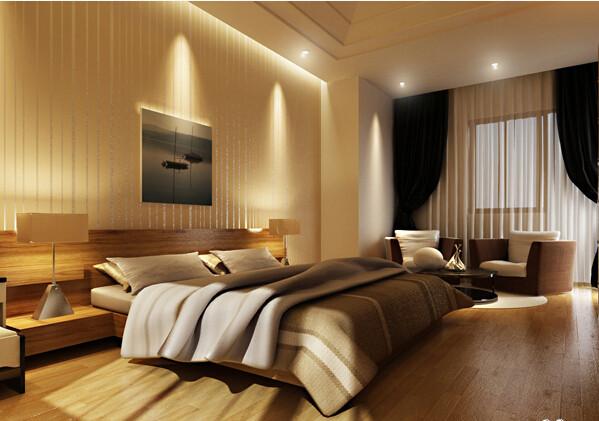 简约别墅卧室装修效果图片 装修美图 新浪装修家居网看图