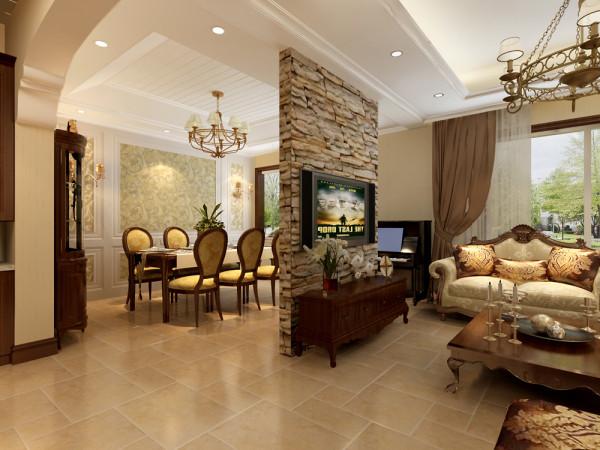 四室美式风格跃层客厅装修效果图片 装修美图 新浪装修家居网看图装修