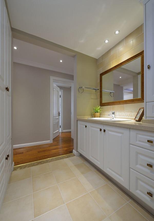 式三居白领收纳80后小资旧房改造卫生间装修效果图片 装修美图 新