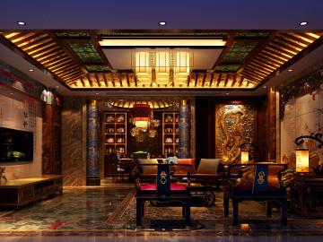 中式典雅演绎传统文化空间
