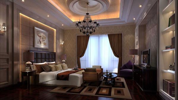 奢华欧式 高度国际 装修设计 卧室图片来自高度国际装饰希文