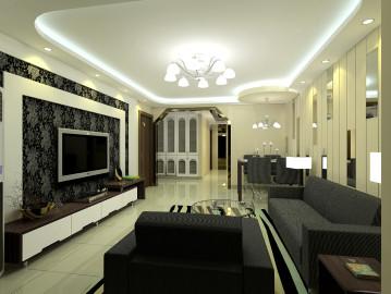 129平温馨时尚的家居空间