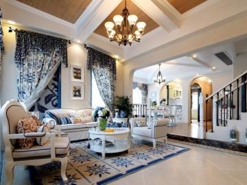 地中海风格设计清澈、浪漫的感觉