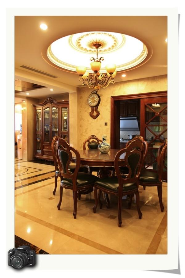 装修 欧式风格 奢华典雅 别墅 餐厅图片来自成都家和装饰在