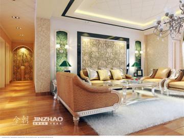 珠峰国际135平古典风格